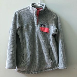 Patagonia re-tool snap fleece jacket size 12 large